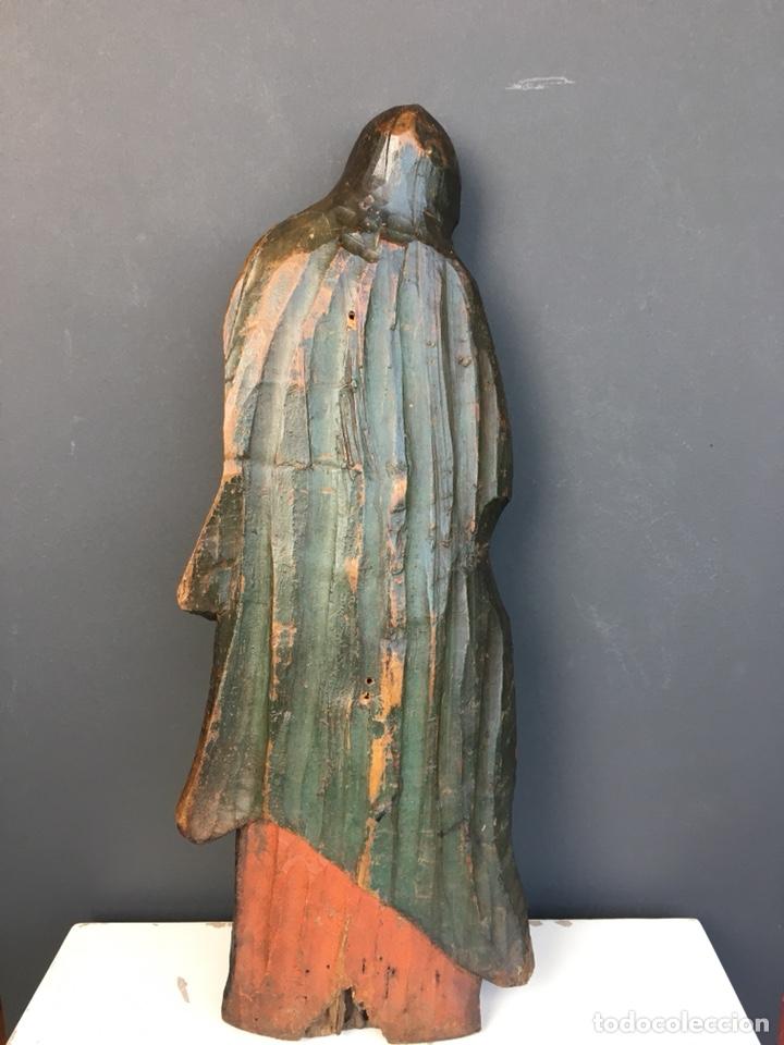 Kunst: Dolorosa. 43cm Talla de madera S. XVII. Escuela española - Foto 4 - 140493309