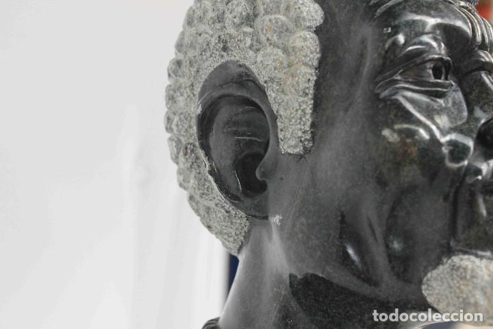 Arte: BUSTO HOMBRE AFRICANO PIEDRA - Foto 4 - 140743658