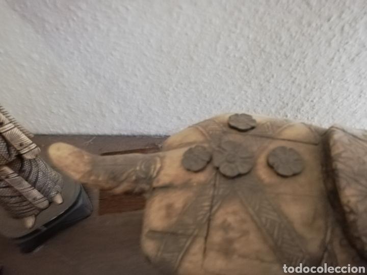 Arte: Hueso..Antigua Escultura o figura de hueso.. De 40cm o un poco más por 40 - Foto 6 - 141333444