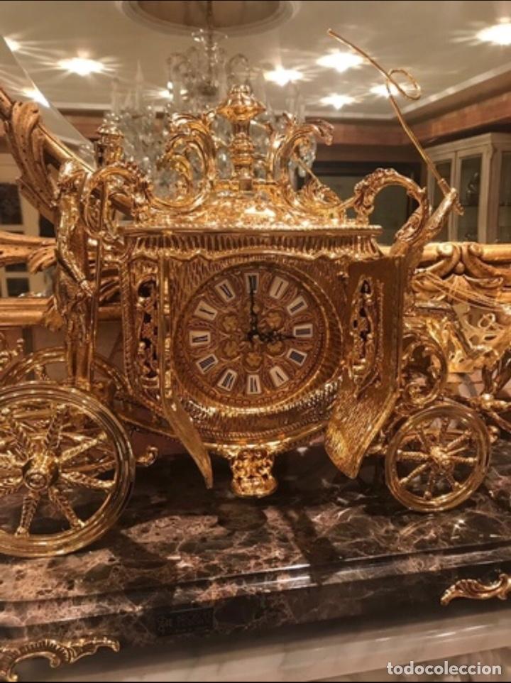 Arte: Reloj de bronce - Foto 2 - 141768178