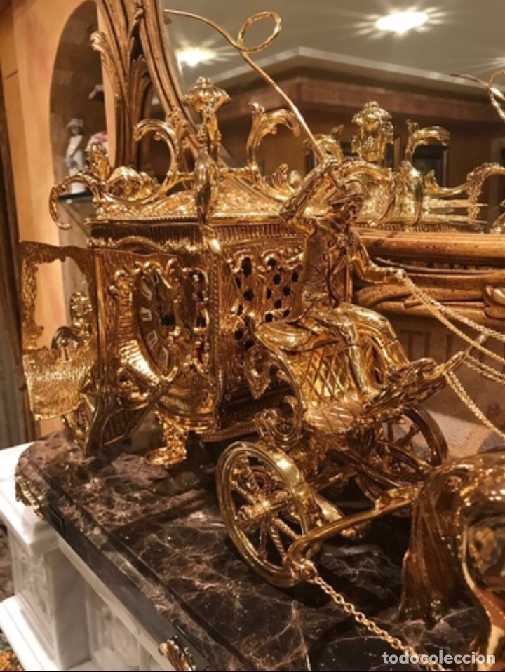 Arte: Reloj de bronce - Foto 3 - 141768178