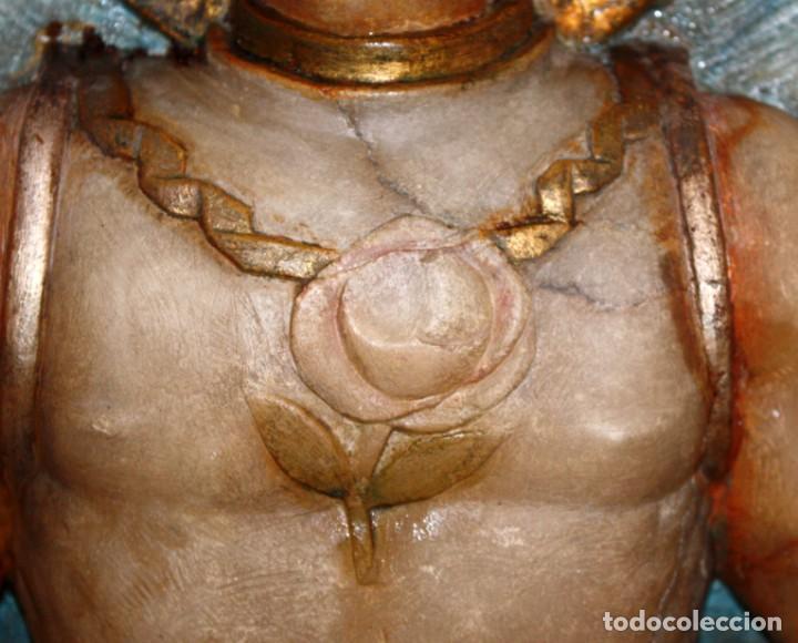 Arte: SENSACIONAL PLAFON DE SAN JORDI EN ALABASTRO DE APROXIMADAMENTE 1900 - Foto 5 - 142568714