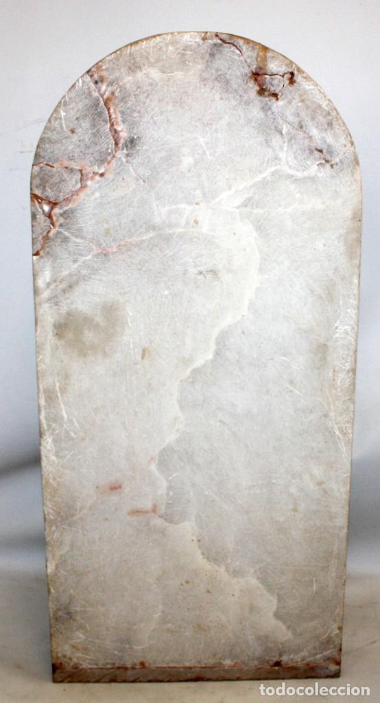 Arte: SENSACIONAL PLAFON DE SAN JORDI EN ALABASTRO DE APROXIMADAMENTE 1900 - Foto 15 - 142568714