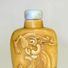 Arte: S.XIX - ANTIGUO PERFUMERO O CAJA DE OPIO O RAPÉ ( SNUFFBOX ) CHINO EN MINIATURA EN MARFIL. Lote 142695302
