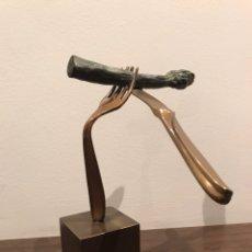 Arte: ESCULTURA DE BRONCE FRANCINA TORNER. Lote 142806194