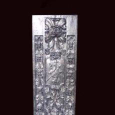 Arte: ANTIGUA TABLA PLATA DE RESINA ANTIGUA , SIMILAR A UN RETABLO , HOTEL MELIÁ ZARAGOZA. Lote 142881230