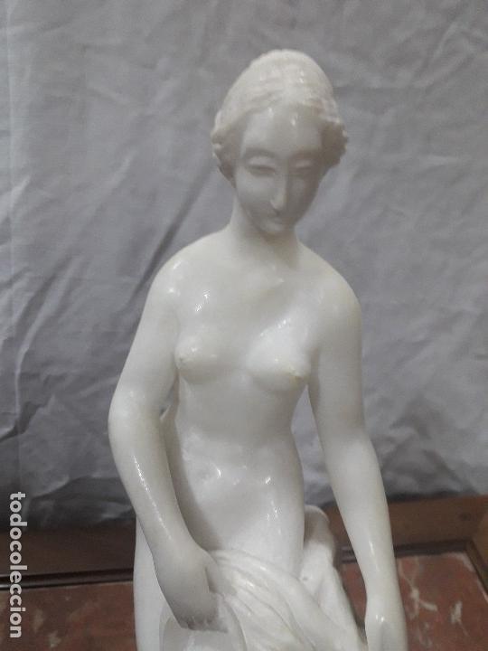 Arte: Figura de alabastro - Foto 2 - 143291542