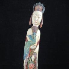 Arte - FIGURA FEMENINA JAPONESA DE GUANYIN - 143550494