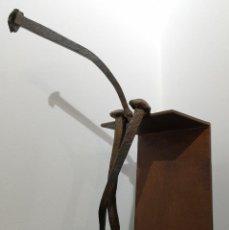 Arte: EMILE GIREAU. ALMAS CLAVADAS. ACERO. Lote 143586910