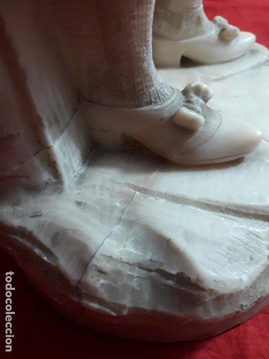 Arte: Escultura alabastro niño - Foto 5 - 143626362