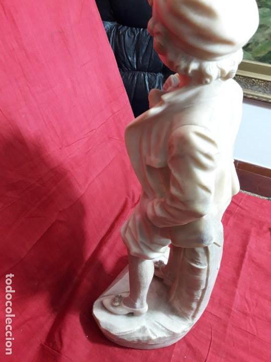 Arte: Escultura alabastro niño - Foto 7 - 143626362