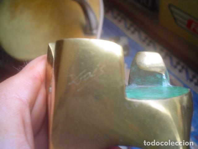 Arte: escultura modernista en bronce firmada del famoso artista fidel GOAS - Foto 4 - 143983654