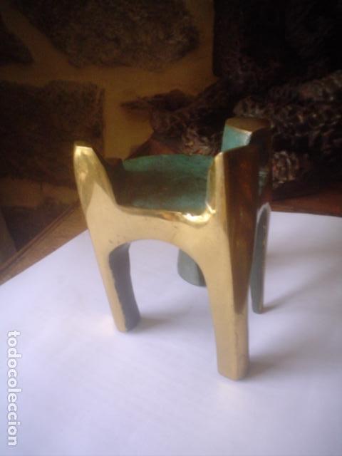 Arte: escultura modernista en bronce firmada del famoso artista fidel GOAS - Foto 9 - 143983654