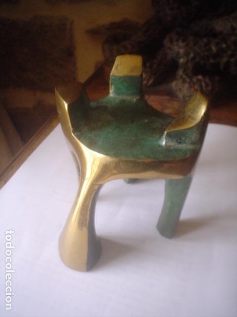 Arte: escultura modernista en bronce firmada del famoso artista fidel GOAS - Foto 10 - 143983654