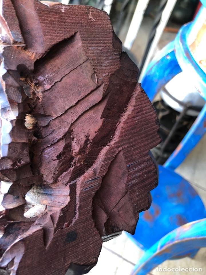 Arte: Figura tailandesa tallada en madera - Foto 4 - 144463402