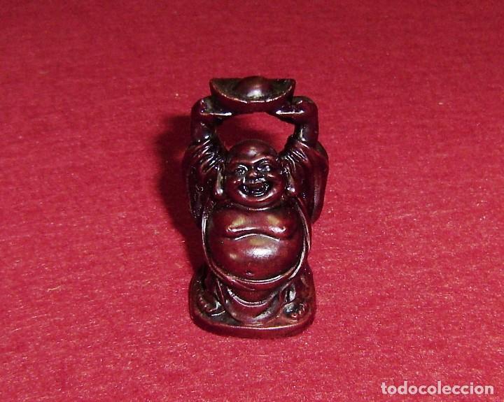 PEQUEÑO BUDA EN RESINA.5 CM. (Arte - Escultura - Resina)