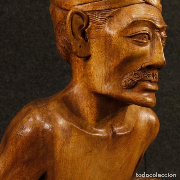 Arte: Escultura indiana en madera del siglo XX - Foto 2 - 144666442