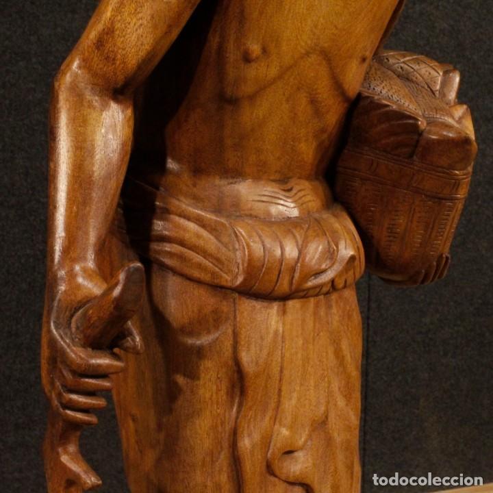 Arte: Escultura indiana en madera del siglo XX - Foto 10 - 144666442