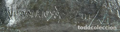 Arte: DESNUDO - Escultura en bronce con peana de mármol, ejemplar III/VI - Foto 5 - 144959866