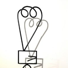 Arte: DIEGO CABEZAS (A CORUÑA, 1975) CHARLATÁN. HIERRO. Lote 145237294