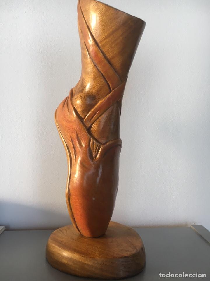 ESCULTURA DE MADERA TALLADA CUBANA (Arte - Escultura - Madera)