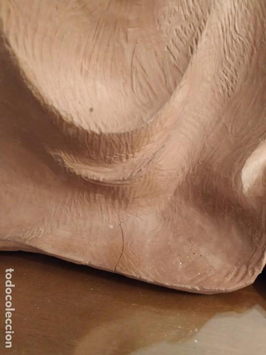 Arte: MODERNISMO TERRACOTA GITANA BASADA EN LA OBRA DE ISIDRE NONELL POR AGUSTIN PARDO 42 cm. - Foto 14 - 145824482
