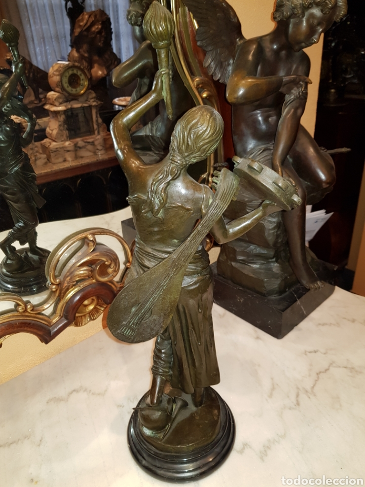 Arte: Escultura de bronce ( 57 cm ) - Foto 9 - 146121882