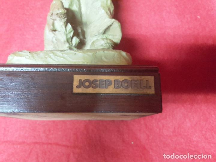 Arte: Escultura Josep Bofill en resina - Foto 3 - 146691278