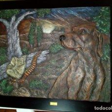 Arte: CUADRO DE ARTE ROMERA DE RESINA DE ALTA DENSIDAD SOBRE PEANA AÑO 1993. Lote 146766414