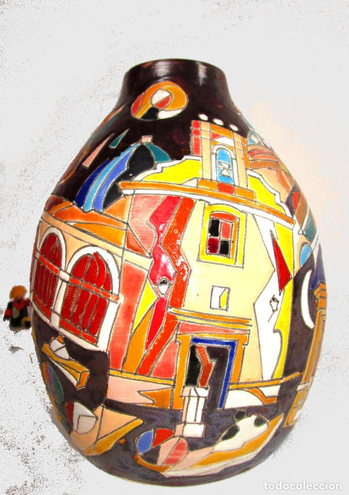 PIEZON ! DE MUSEO NACIONAL PREMIO CERAMISTA VICENTE ESPINOSA CARPIO , ESPECIAL BURJASSOT VALENCIA (Arte - Escultura - Terracota )