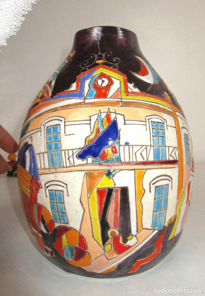 Arte: PIEZON ! DE MUSEO NACIONAL PREMIO CERAMISTA VICENTE ESPINOSA CARPIO , ESPECIAL BURJASSOT VALENCIA - Foto 3 - 146801270