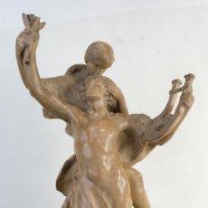 Arte: CHARLES-EUGÈNE BRETON (1878-1968) ESCULTURA EN TERRACOTA ALEGORÍA A LA MÚSICA FIRMADO. Lote 146935234
