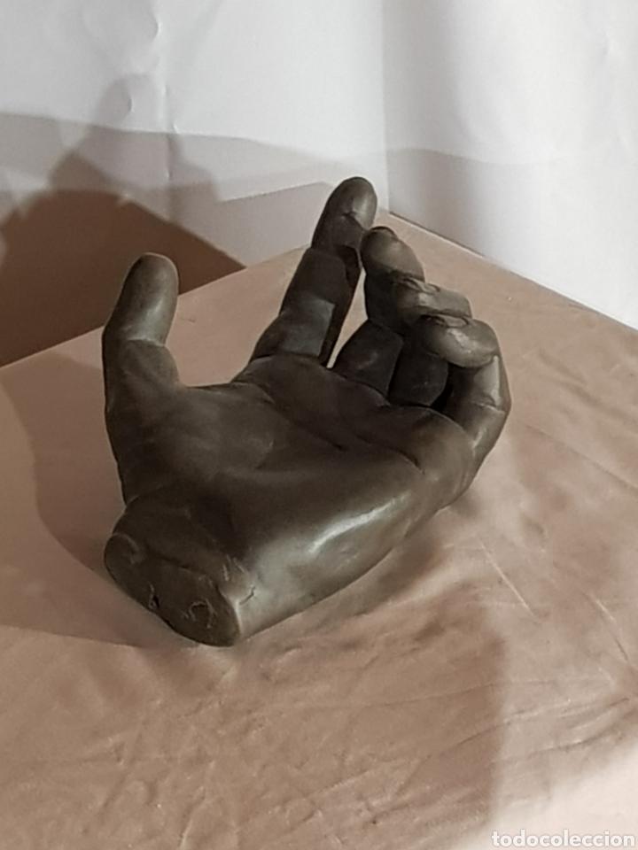 TERRACOTA. MANO MASCULINA (Arte - Escultura - Terracota )
