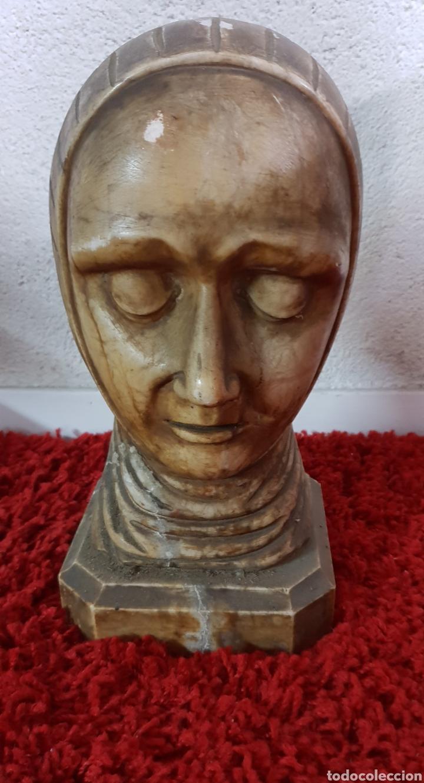 Arte: Busto de alabastro - Foto 2 - 148358540