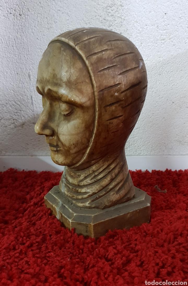 Arte: Busto de alabastro - Foto 3 - 148358540