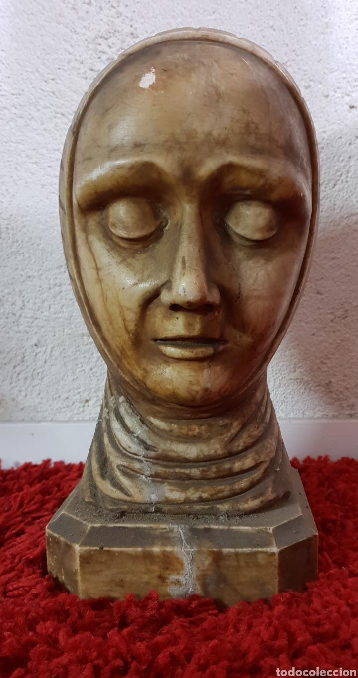 Arte: Busto de alabastro - Foto 5 - 148358540