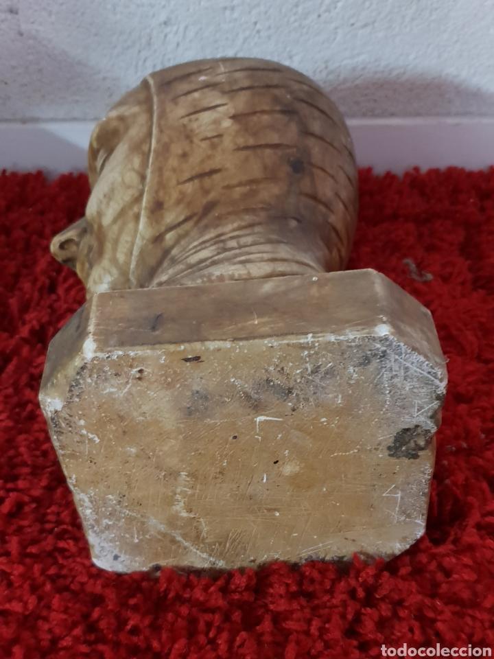 Arte: Busto de alabastro - Foto 6 - 148358540