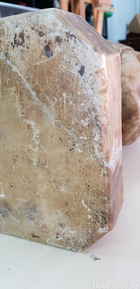Arte: Busto de alabastro - Foto 10 - 148358540