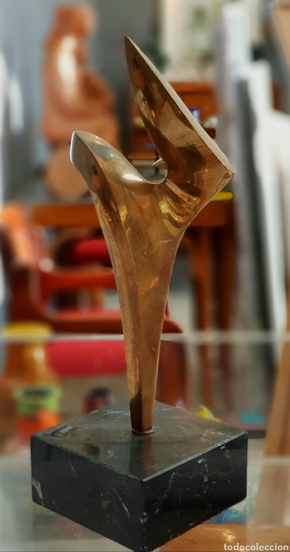 Arte: Ignacio Bernardo (Avilés 1955) interesante escultura bronce numerada y firmada. - Foto 4 - 148895416