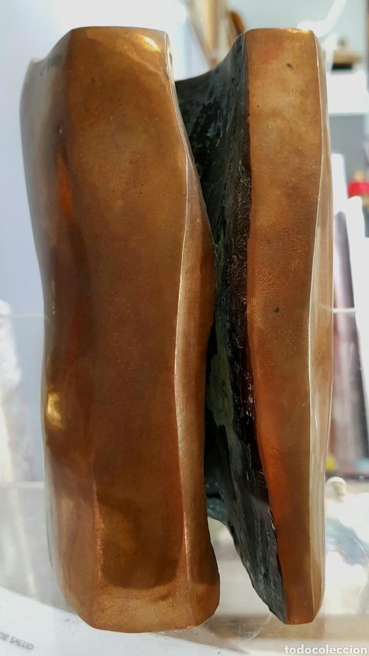 MIRIAM KAROLY (VIENA 1926-1994) MAGNÍFICA ESCULTURA ABSTRACTA (ORIGINAL) BRONCE, FIRMADA. (Arte - Escultura - Bronce)