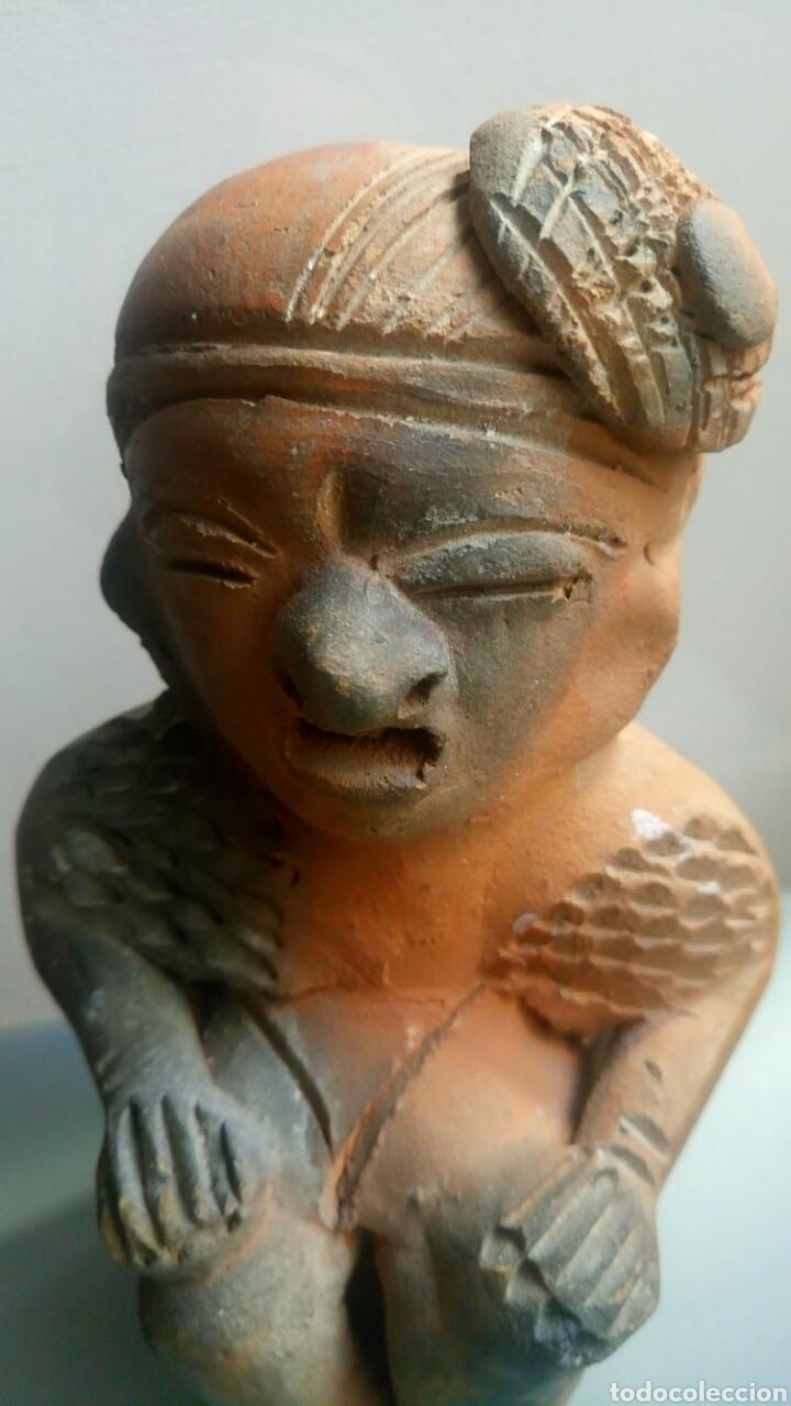 Arte: Bonita pareja figuras esculturas barro - Foto 5 - 149445085