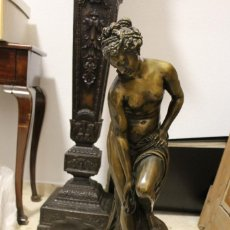 Arte: ESCULTURA DE BRONCE, VENUS AU BAIN DE ALLEGRAIN, FINALES DEL SIGLO XIX. 70 CM. Lote 149578034