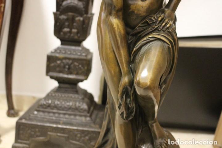 Arte: escultura de bronce, Venus au Bain de Allegrain, finales del siglo XIX. 70 cm - Foto 4 - 149578034