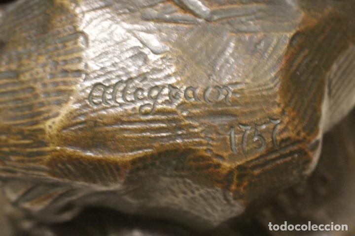 Arte: escultura de bronce, Venus au Bain de Allegrain, finales del siglo XIX. 70 cm - Foto 7 - 149578034