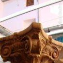 Arte: COLUMNA DE MADERA CON CAPITEL TALLADO. Lote 149699758