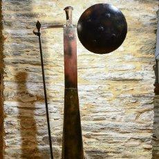 Arte: LAMPARA ESCULTURA GRANDE DE DON QUIJOTE. Lote 151631870