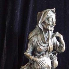 Arte: FIGURA ANCIANA, MAGNÍFICA. Lote 152215390