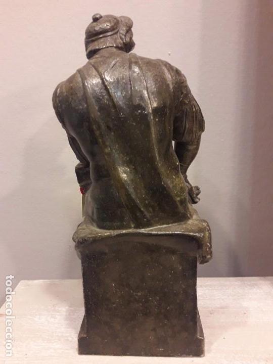 Arte: Escultura de Lorenzo de Médici, bronce - S. XIX - Foto 3 - 152815414