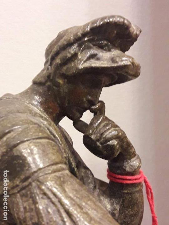 Arte: Escultura de Lorenzo de Médici, bronce - S. XIX - Foto 5 - 152815414