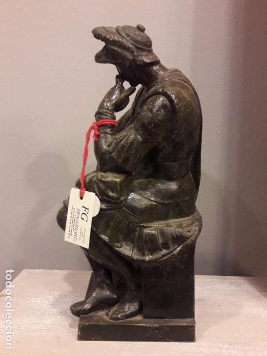 Arte: Escultura de Lorenzo de Médici, bronce - S. XIX - Foto 2 - 152815414